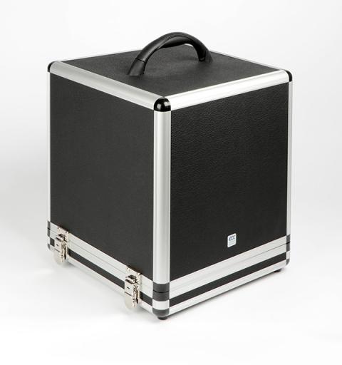 Geldzählmaschine K2 mit Akku im Koffer