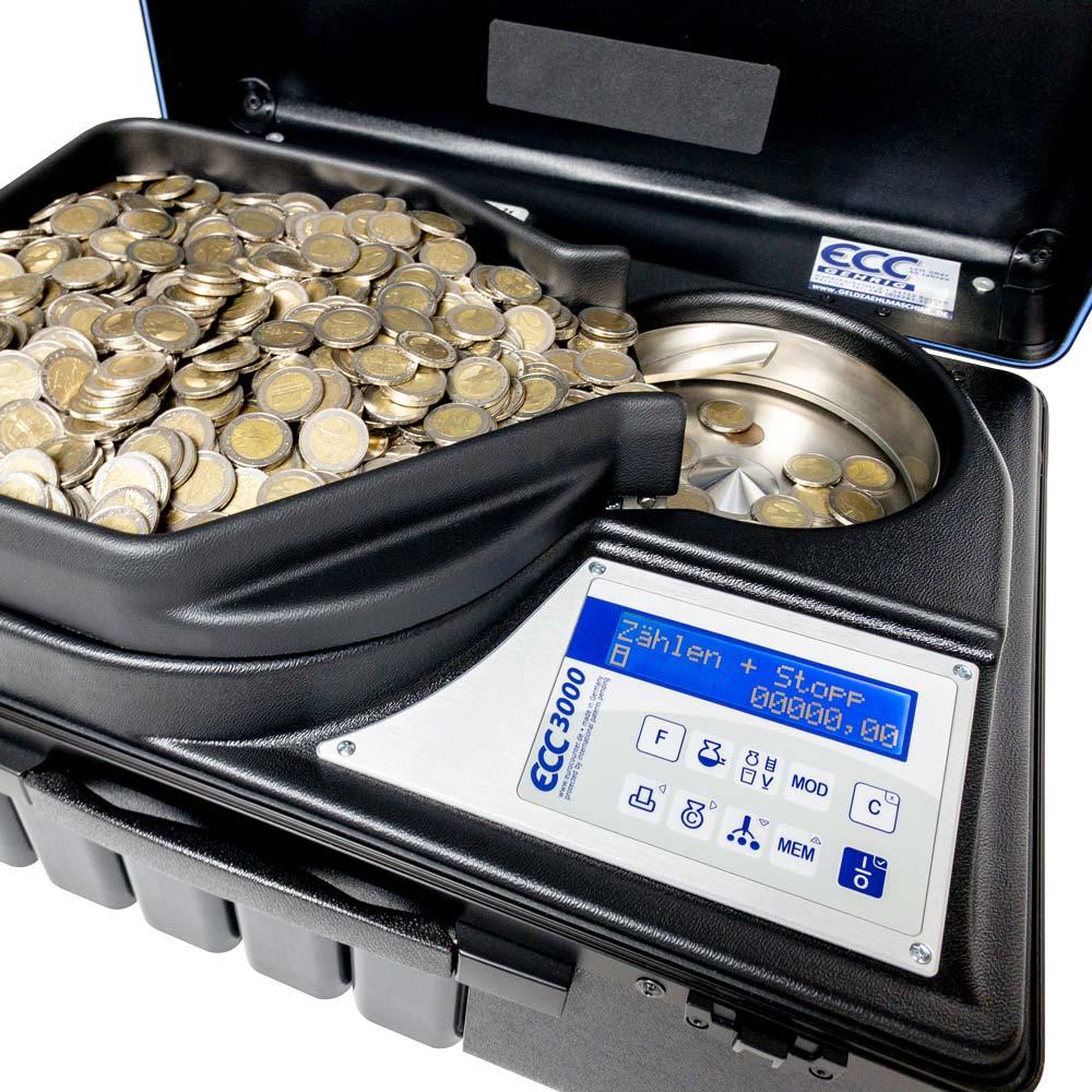 ECC3000 die schnellste Geldzählmaschine