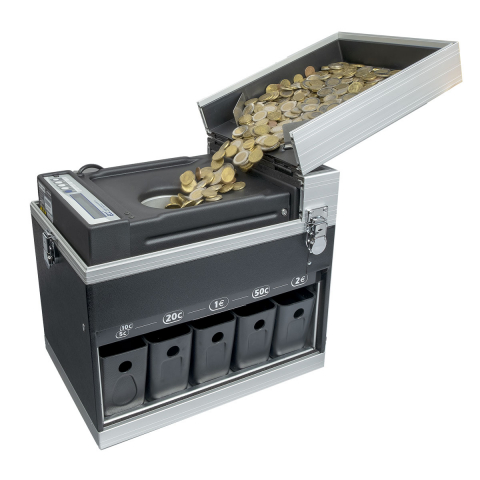 Münzzähler und Münzsortierer ECC04