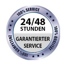 24/48 Stunden Garantierter Service