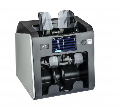 Geldzählmaschine Kisan K2