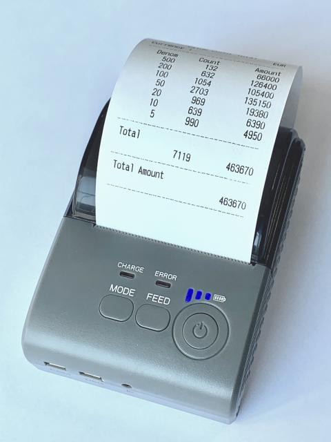 Thermodrucker Akku für ECC und Kisan Geräte
