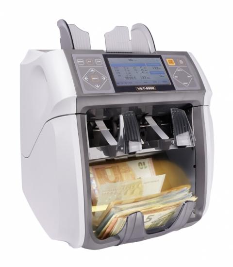 Geldzählmaschine Wertzähler und Sortierer V&T 8800